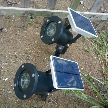 Solární vánoční projektor Světlo